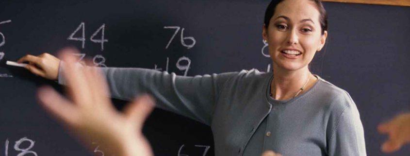 Lehrerin von hörgeschädigten Schülern